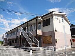 滋賀県東近江市五個荘北町屋町の賃貸アパートの外観