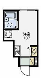 ファーストハウス都立大学[1階]の間取り