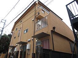 東京都大田区大森西2丁目の賃貸アパートの外観