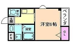 コートブリス野田[2階]の間取り