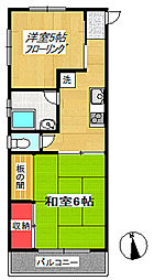 櫻レジデンシャル[3階]の間取り