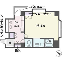 迎陽館[3階]の間取り