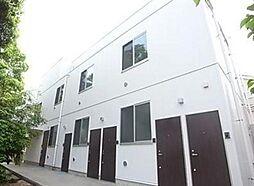 埼玉県草加市住吉2丁目の賃貸アパートの外観
