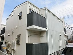 千葉県千葉市中央区蘇我2丁目の賃貸アパートの外観