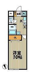 YAMASHIN・笛田[101号室]の間取り