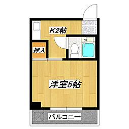 永和第10ビル[4階]の間取り