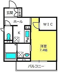 (仮)大宮区桜木町シャーメゾン[301号室]の間取り