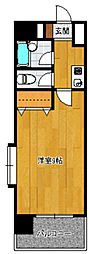 ラフィーネ博多[4階]の間取り