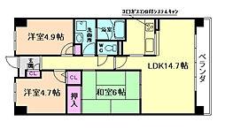 大拓メゾン野田[9階]の間取り
