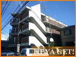 東京都昭島市美堀町4丁目の賃貸マンションの外観