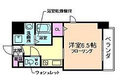 アクアプレイス梅田5[3階]の間取り