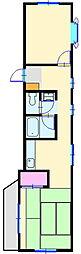 みのりハウス[1階]の間取り