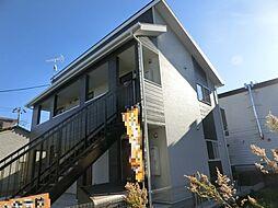 千葉県大網白里市永田の賃貸アパートの外観