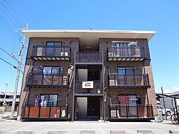 滋賀県長浜市十里町の賃貸マンションの外観