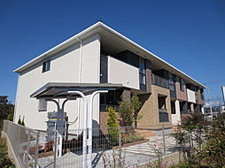 滋賀県彦根市西沼波町の賃貸アパートの外観