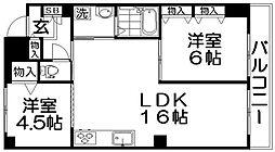 ハウス・ホルド[2階]の間取り