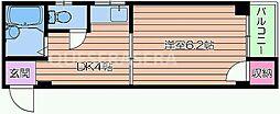 フローラルステージ桜ノ宮[3階]の間取り