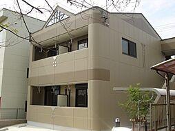 愛知県豊田市永覚町上長根の賃貸アパートの外観