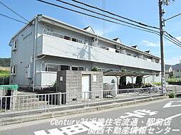 大阪府枚方市津田駅前2丁目の賃貸アパートの外観