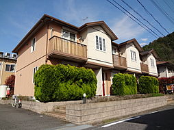 滋賀県東近江市能登川町の賃貸アパートの外観