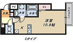 プリム・K三国ヶ丘[1階]の間取り