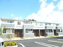 滋賀県近江八幡市浅小井町の賃貸アパートの外観