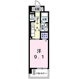 brote湘南[5階]の間取り