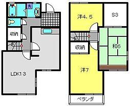 [テラスハウス] 神奈川県横浜市磯子区森が丘2丁目 の賃貸【/】の間取り