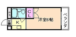 トクコーポ[1階]の間取り