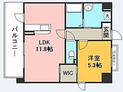 箱崎なつめビル[701号室]の間取り