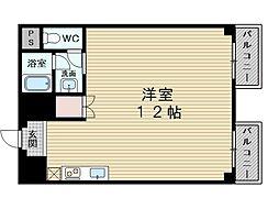 新大阪淀コート[10階]の間取り