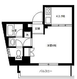 アルビオン高津[4階]の間取り