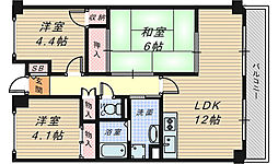 グランド・ハウス・プラム[3階]の間取り