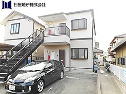 愛知県豊橋市浪ノ上町の賃貸アパートの外観