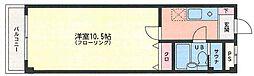 プランドゥ香住ヶ丘[207号室]の間取り