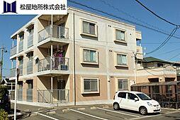 愛知県豊橋市つつじが丘3丁目の賃貸マンションの外観