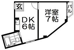 三井マンション[3階]の間取り