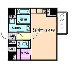 ディクス梅田東レジデンス[6階]の間取り