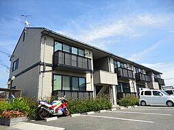 滋賀県長浜市祇園町の賃貸アパートの外観
