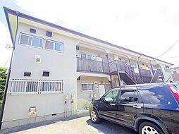 東京都立川市幸町5丁目の賃貸アパートの外観