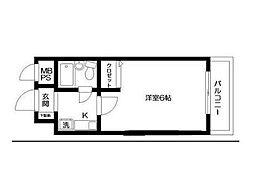 日神パレステージ宮崎台[1階]の間取り