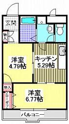 コンフォート渋谷[4階]の間取り