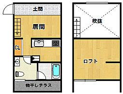 ORTUS AKAMATSU[203号室]の間取り