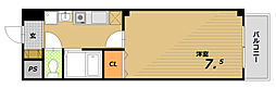 ラ・ヴィスタ板宿[1階]の間取り