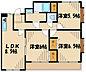間取り,3LDK,面積67.3m2,賃料6.9万円,JR相模線 上溝駅 徒歩11分,JR相模線 番田駅 徒歩19分,神奈川県相模原市中央区上溝2524-2