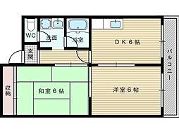 第2至誠ビル[5階]の間取り