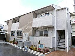 大阪府池田市住吉2丁目の賃貸アパートの外観