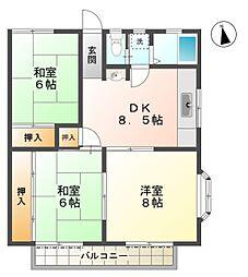 新豊龍荘[1階]の間取り