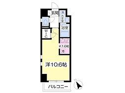クオリア新鎌ヶ谷[2階]の間取り