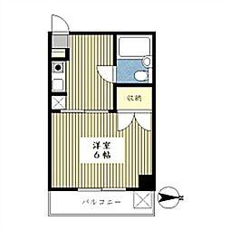 サンモール第3青葉台[3階]の間取り